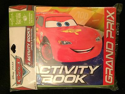 Disney Cars Party Supplies-Activity Books-4ct.~Birthday Party Favors