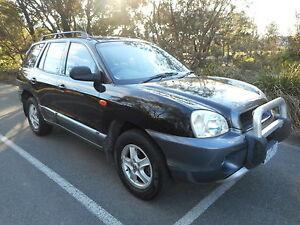 2001 Hyundai Santa Fe Wagon reg and roadworthy!! Moorabbin Kingston Area Preview