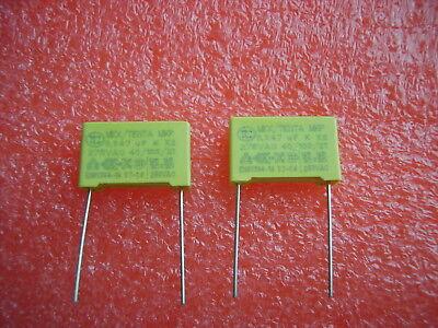 47 nF 0,047 µF MKP  275 V AC K X2  Polypropylen Folien Kondensator ( 2Stck.) (Kondensator Ac)