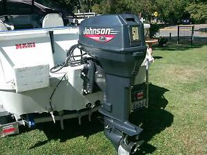 1999 50 HP JOHNSON OEM OUTBOARD MOTOR Symonston South Canberra Preview