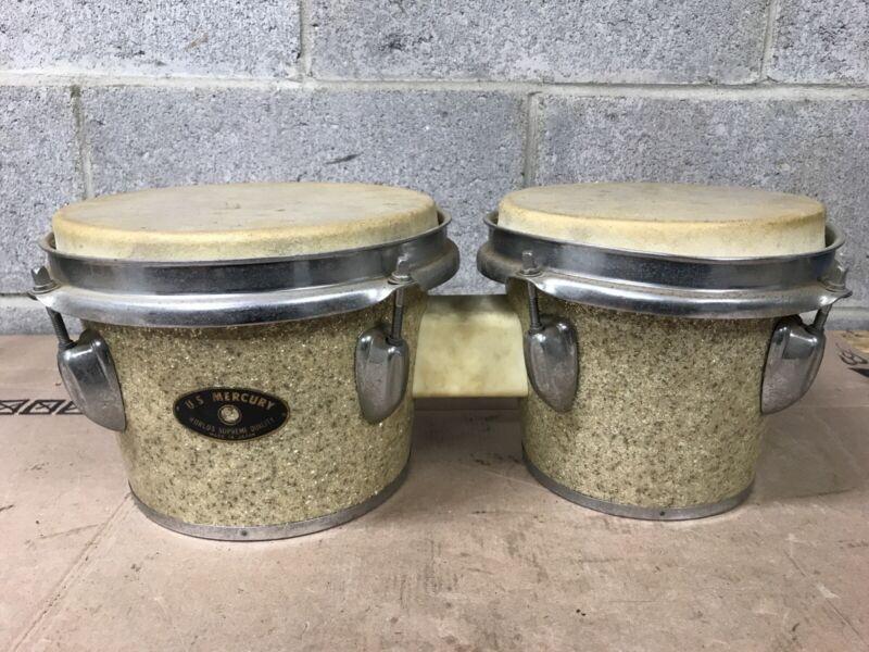 Vintage U.S.MERCURY Bongo Drums