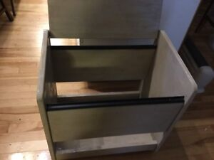 Latte brown printer caddy- available