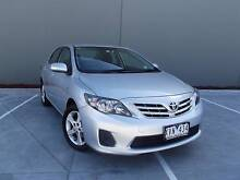 2010 Toyota Corolla MY11 Conquest Silver Pearl 4 Speed Automatic Campbellfield Hume Area Preview