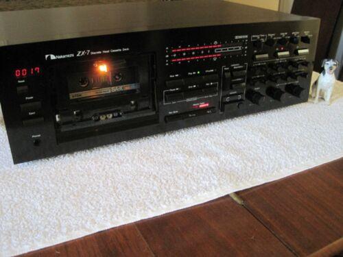 Nakamichi ZX-7 - 3 Head Cassette Deck - Very Nice