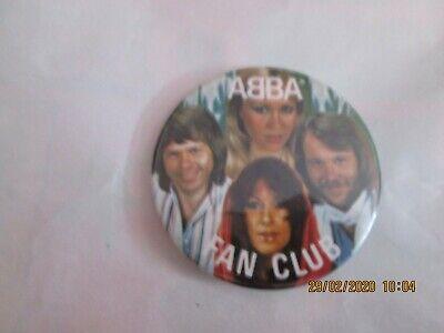 ABBA FAN CLUB BADGE FREE P+P