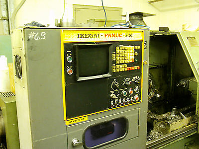 Ikegai Ax25n With Fanuc Controls