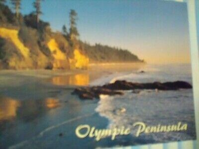 BEAUTIFUL PHOTO POST CARD AERIAL VIEW OLYMPIC PENINSULA OLYMPIC NATIONAL PARK WA Olympic Peninsula National Park