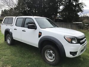 2010 Ford Ranger Xl (4x4) 5 Sp Automatic Dual Cab P/up
