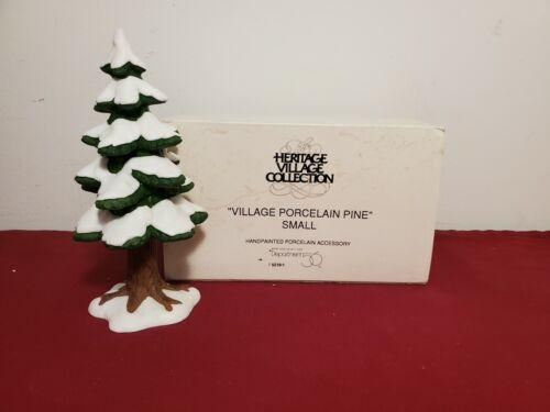 Dept 56 Dickens Village 5219-1 Village Porcelain Pine Small