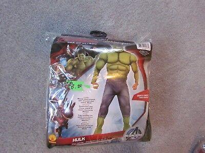 Hulk Halloween Costume Kids (HULK MARVEL AVENGERS CHILD HALLOWEEN COSTUME MEDIUM 8 - 10 NEW AGE OF)