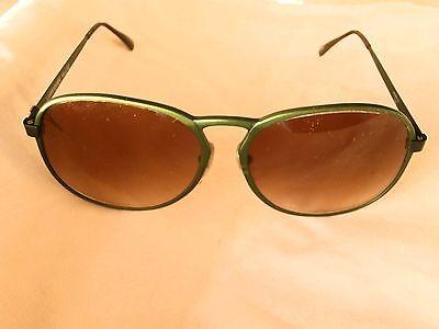 Original Lamborghini Italienische Sonnenbrille Vintage 1980! Neu & Nie Verkauft