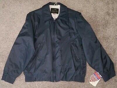 Golden Fleece Outerwear Spiewak nylon zip jacket Navy blue vintage deadstock MED