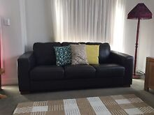 Leather Lounge Figtree Wollongong Area Preview