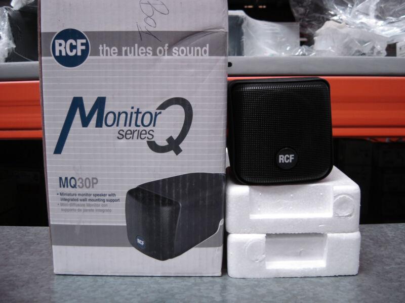RCF MQ30P-B Diffuseur Noir 2 Voies 2 Way Écran 12W RMS 16 Ω 130.00.068