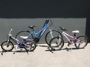 Women's and girls mountain bikes