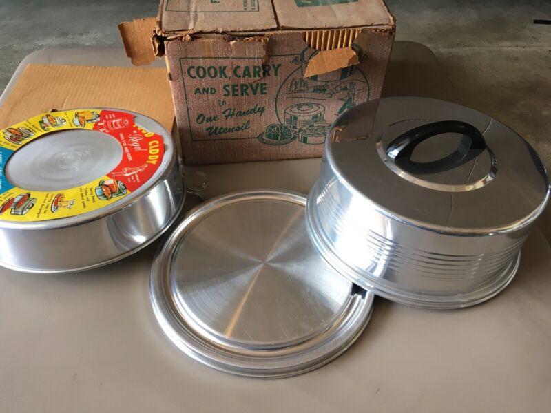vintage 1950s 60s Regal food caddy IOB
