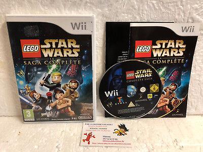 Jeu Vidéo Lego Star Wars La Saga Complète VF Wii U Complet Lucasart Activision