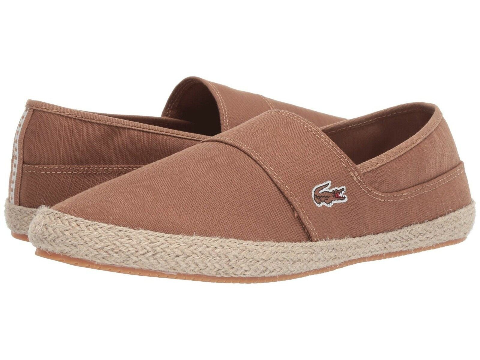 Lacoste Marice 119 Men's Croc Logo Casual Slip On Loafer shoes Sneakers L Brown