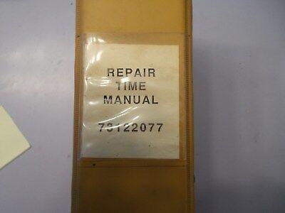 Fiat Allis Repair Time Manual Form 73122077