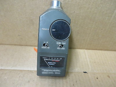 Realistic - Vintage Electronic Sound Level Decibel Meter -10 To 8 Db Used