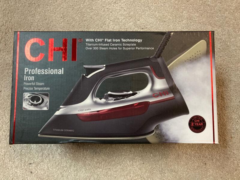CHI Professional 1700W Clothing Titanium Infused Ceramic Soleplate Steam Iron