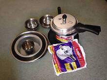 Prestige pressure cooker 3ltr, with bowl, plate glass Strathfield Strathfield Area Preview