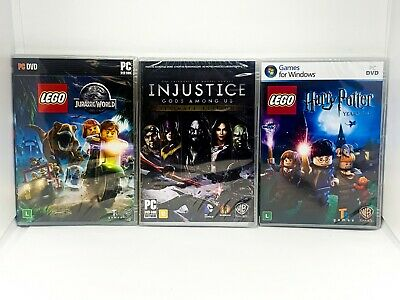 Injustice + Lego Harry Potter + Lego Jurassic World - PC Bundle - Portuguese Cov, usado comprar usado  Enviando para Brazil