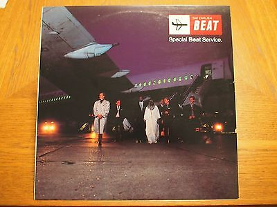 English Beat Special Beat Service Original Vinyl 12  Lp Album 1982 Irs Ska
