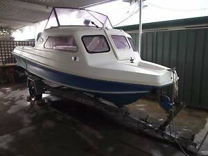 Seabreeze 16 ft 80 hp Yamaha Boat Semaphore South Port Adelaide Area Preview