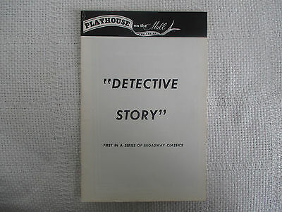 1973 Playhouse On The Mall/Detective Story Off Broadway Paramus NJ (The Broadway Mall)