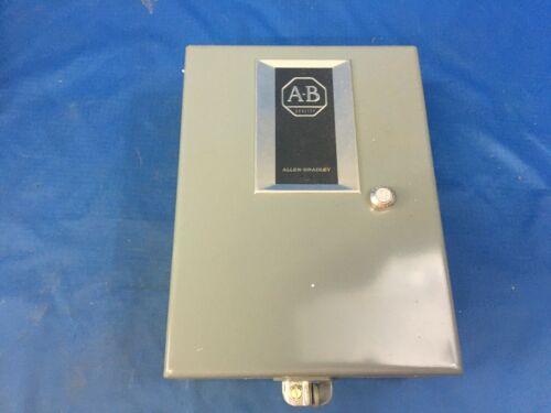 Allen-Bradley 209-BAG-N2X Full Voltage DC Starter 115VDC NSN:6110-01-126-5034