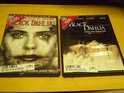 Black Dahlia Halloween ((2) The Black Dahlia Horror DVD Lot:  Ulli Lommel & Scarlett Johansson)