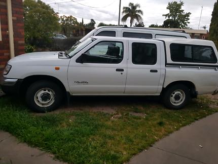 2000 Nissan Navara Dual Cab ute Auto