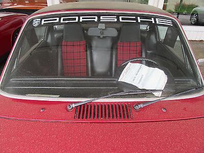 Porsche 356 911 912 914 928 boxster 944 cayenne boxster window tint Fun item!