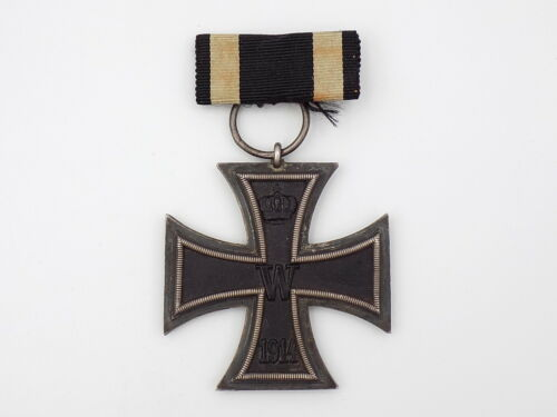 Original WWI German Army 1914 EK2 Iron Cross Medal - MO
