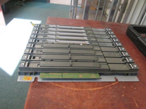 Siemens Simatic S7 PLC Rack 6ES7400-1JA01-0AA0 9-Slot Used