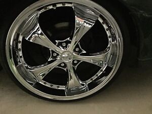 20 inch chrome rims Gungahlin Gungahlin Area Preview