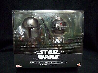 Star Wars Disney Store Exclusive The Mandalorian & IG-11 Figures.