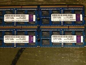 4X4gb sticks of Kingston DDR3 LAPTOP RAM (READ DESCRIPTION) Bayswater Bayswater Area Preview