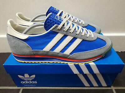 Adidas SL 72 Vintage. UK10. Air Force Blue, Legacy & Slate. 909495.