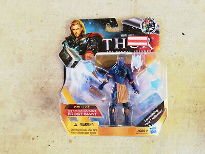 Marvel Universe Thor Deluxe ICE ATTACKs FROST GIANT 3.75 inch figure MOC