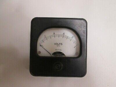 Vintage Weston 0-1 D.c. Volt Gauge Meter Model 8854 3 Steam Punk