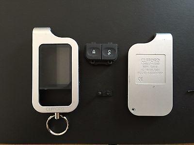 CLIFFORD 2-Way Remote shell case silver Models 7351X 7752X    C7