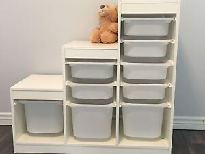 IKEA storage shelves/bins
