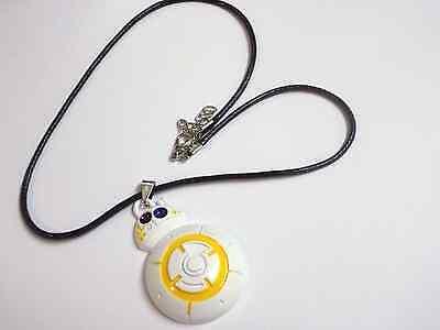 Star Wars BB8 droid Zinc Alloy necklace uk seller