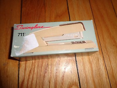 Vintage Swingline Stapler 711 With Box