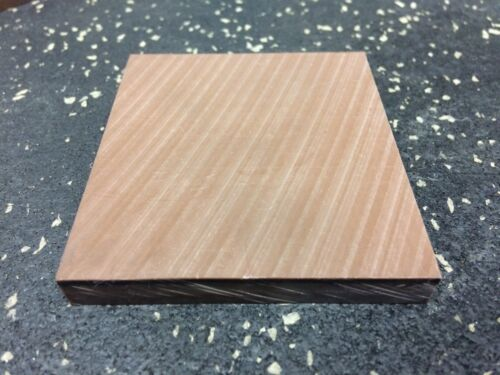 """DELRIN RESIN plate 0.375"""" thick w 2.75"""" wide x 3"""" long"""
