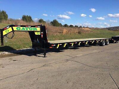3510 Gator Gooseneck Hot Shot Hydraulic Dovetail Trailer With Air Ride
