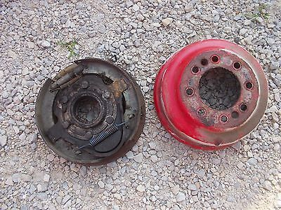 Ford 8n Tractor Original Inner Right Hub Brake Assembly W Band Parts