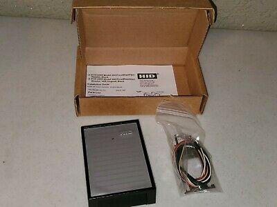 Hid 3110-2305 230 Access Control System Proximity Magnetic Stripe Reader